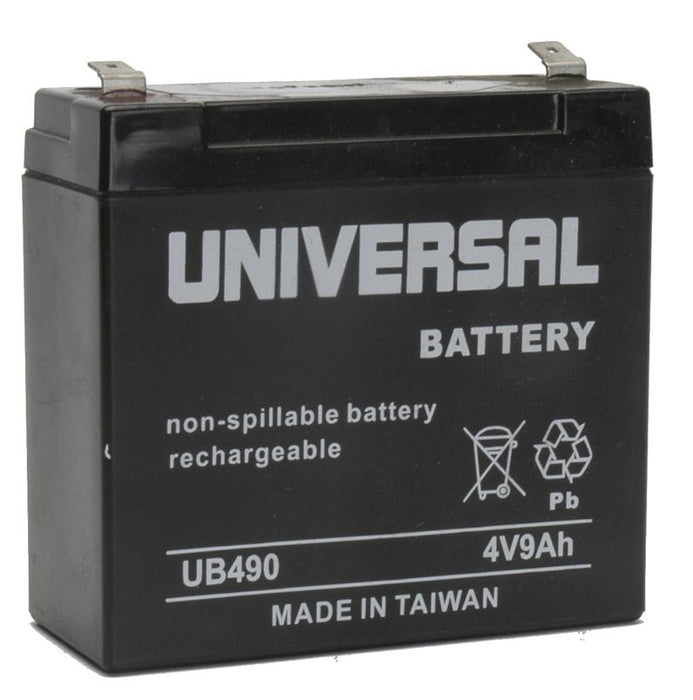 UPG 4V 9Ah Sealed Lead Acid - AGM - VRLA Battery - F2