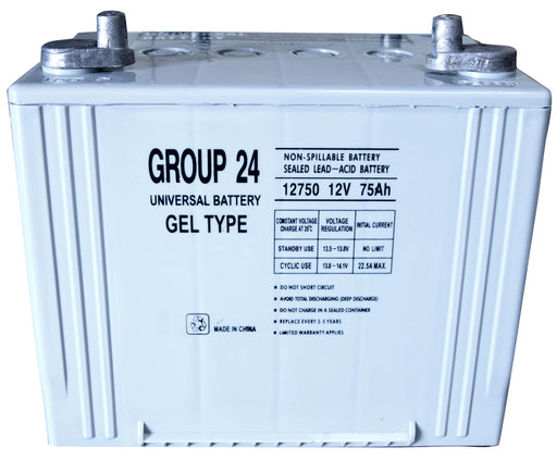 UPG GEL 12V 75Ah Sealed Lead Acid - GEL Battery - Z1