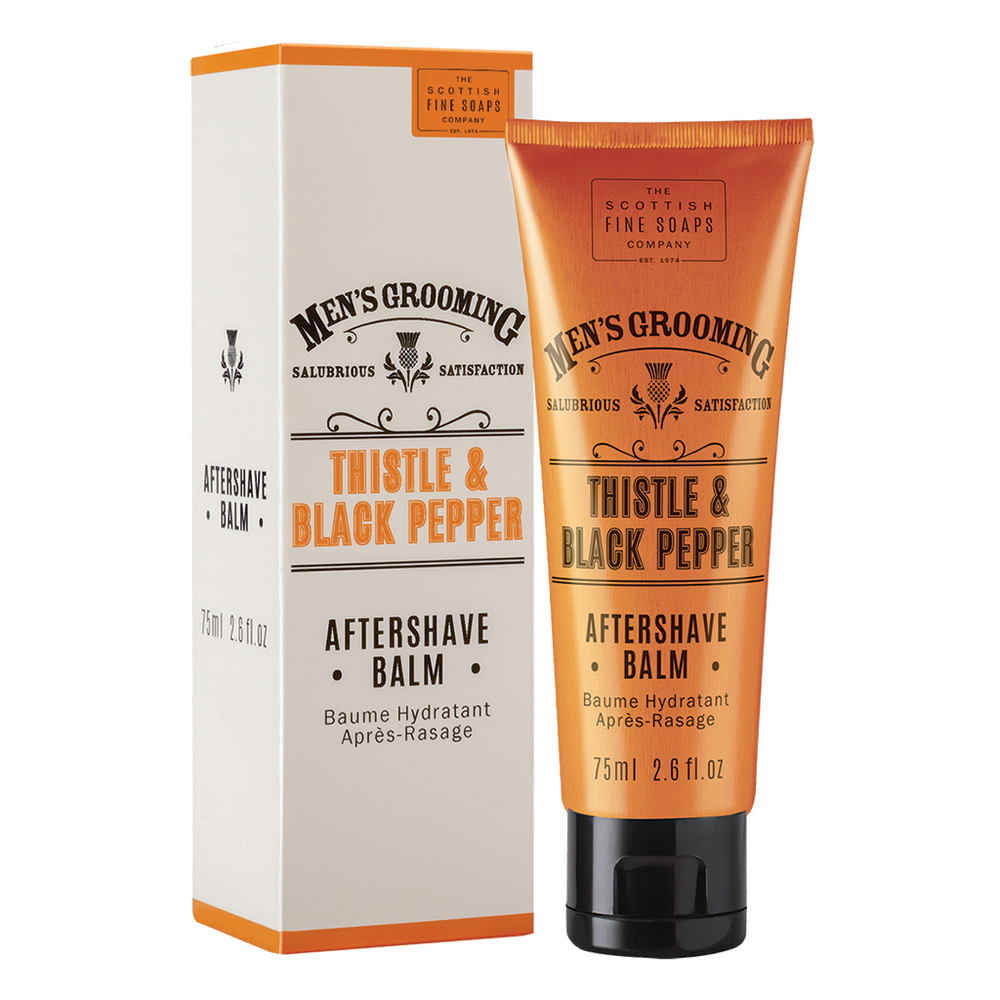 After Shave Thistle & Black Pepper 75ml