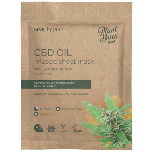 CBD Oil Sheet Mask Kasvonaamio