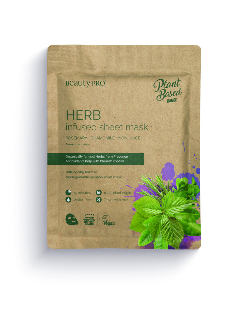 Herb Infused Sheet Mask Kasvonaamio