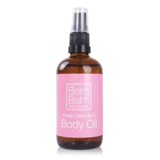 Vartaloöljy Rose Geranium Body Oil 100ml