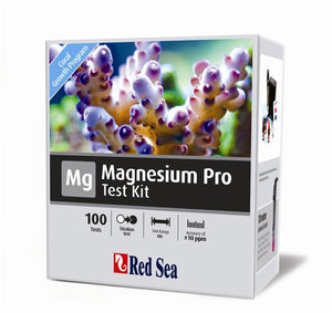 Red Sea Magnesium Pro - High accuracy Titration Test Kit (100 tests) - incl. professional titrator