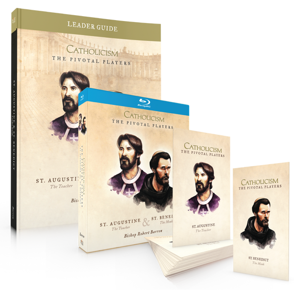 Pre-Order: St. Augustine & St. Benedict - Leader's Kit (Blu-Ray)