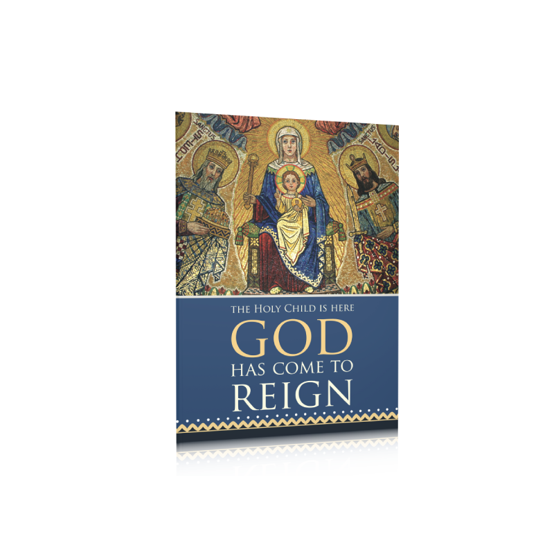 christmas card pack god has come to reign pack of 20 - Christmas Card Packs