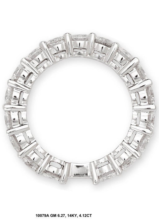 10079A - 14K White Gold Eternity Band - Pawn212
