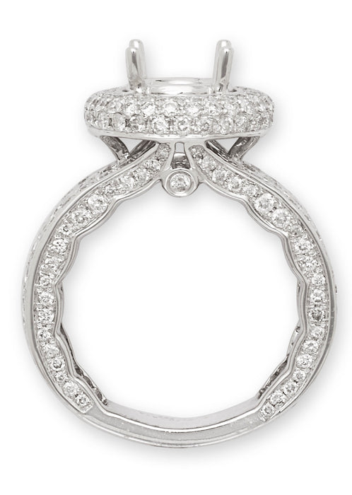 10791A - 14K White Gold Engagement Ring - Pawn212