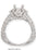10908A-2 - 14K White Ring - Pawn212