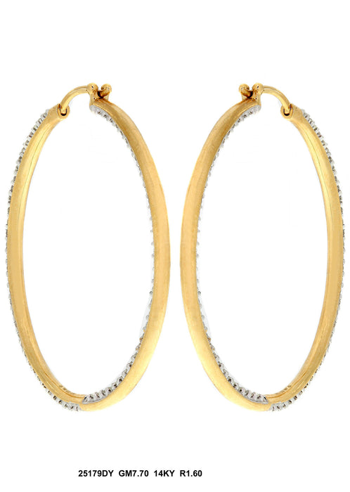 25179DY - 14K Yellow Gold Earring - Pawn212