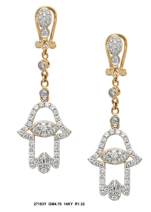 27183Y - 14K Yellow Earring - Pawn212