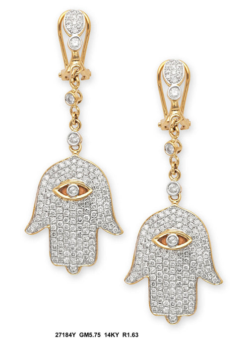 27184Y - 14K Yellow Earring - Pawn212