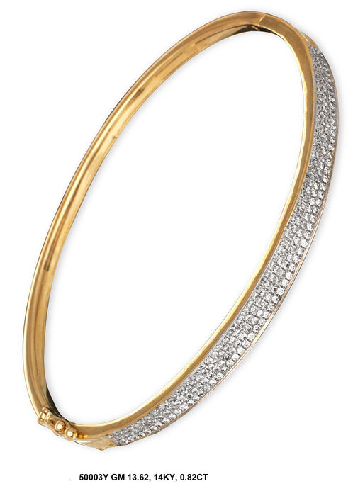 50003Y-2 - 14K Yellow Ladies Bangle - Pawn212