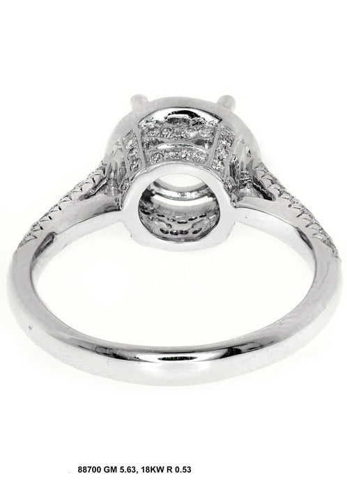 88700-5 - 14K White Ring - Pawn212