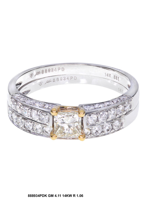 88934PDK - 14K White/Yellow Ring Set - Pawn212