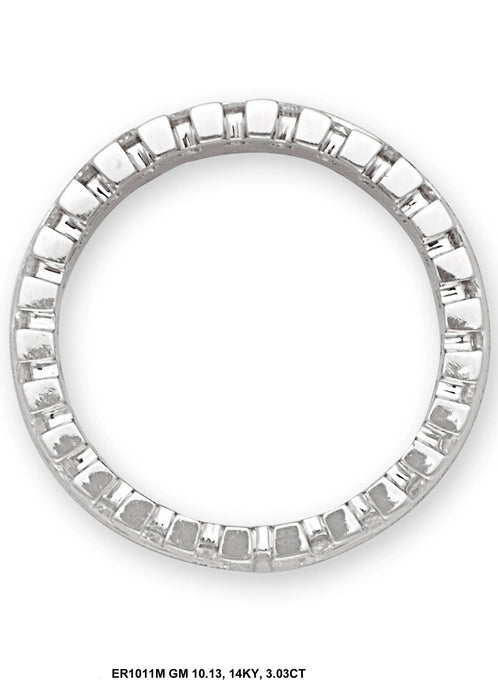 ER1011M-2 - 14K White Ring - Pawn212