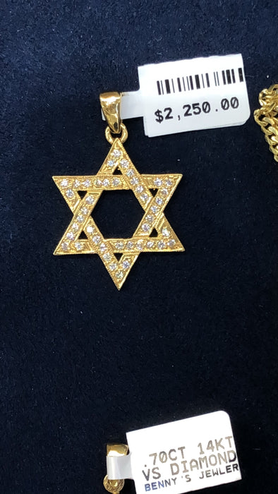 Star of David Pendant - Pawn212