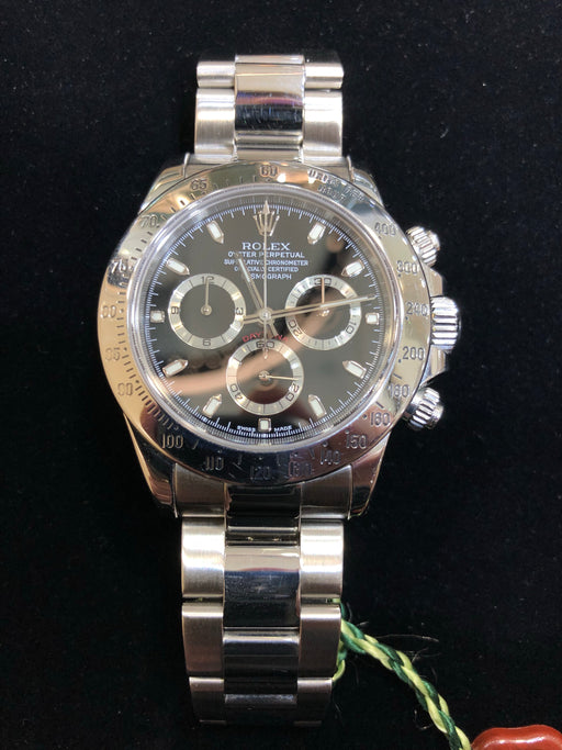 Rolex Daytona Oyster Perpetual (2006), Black Dial, Factory Original, 40MM, Model 116520 - Pawn212