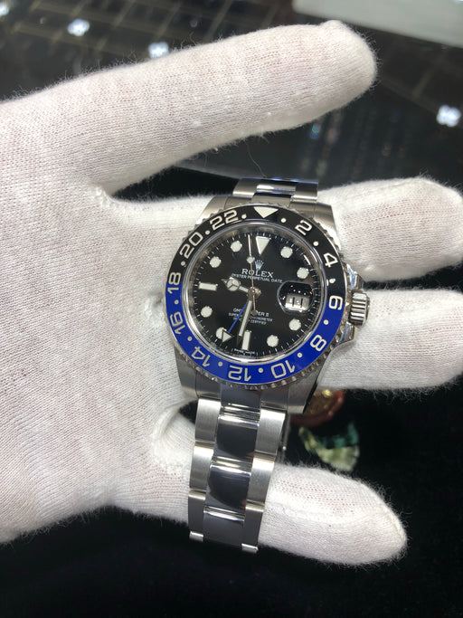 "Rolex ""BATMAN"" GMT-Master II Oyster Perpetual Date, 40MM, Model 116710BLNR - Pawn212"