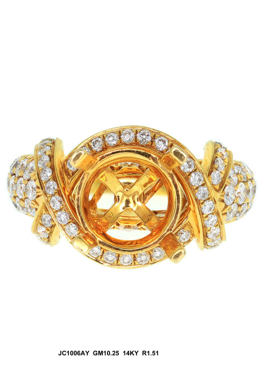 JC1006AY-1 - 18K Yellow Ladies Ring - Pawn212