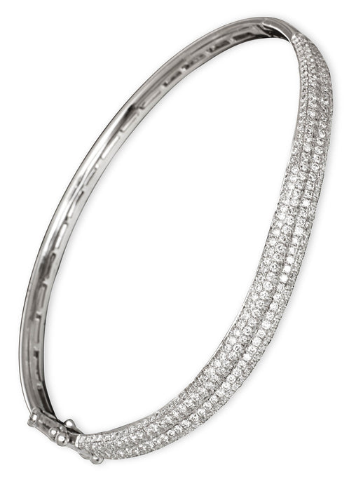 JC5108 - 18K White Bangle - Pawn212