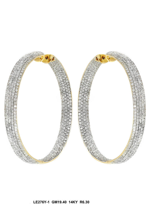 LE276Y-1 - 14K Yellow Gold Earring - Pawn212