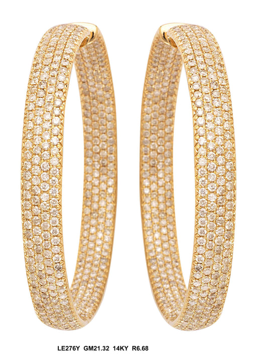 LE276Y-2 - 18K Yellow Earring - Pawn212