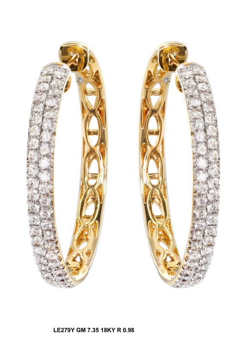 LE279-2 - 14K Yellow Earring - Pawn212