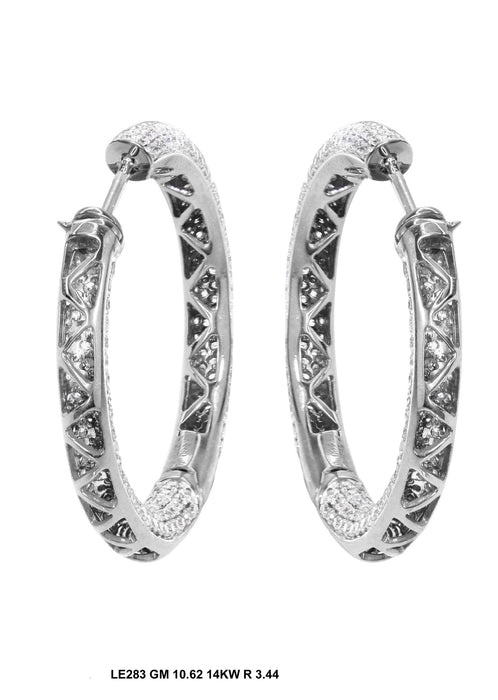 LE283 - 14K White Gold Earring - Pawn212
