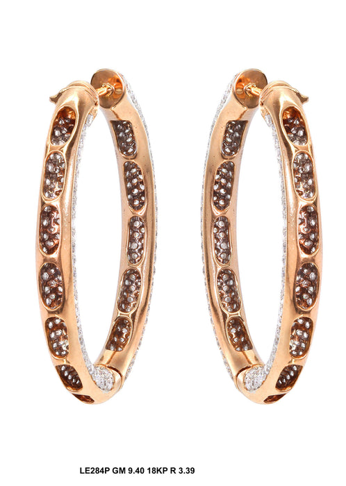 LE284P - 18KP Earring - Pawn212