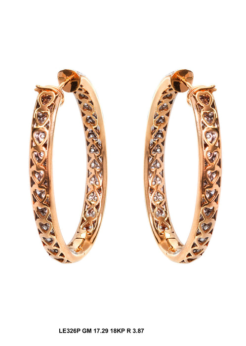 LE326P - 18KP Earring - Pawn212