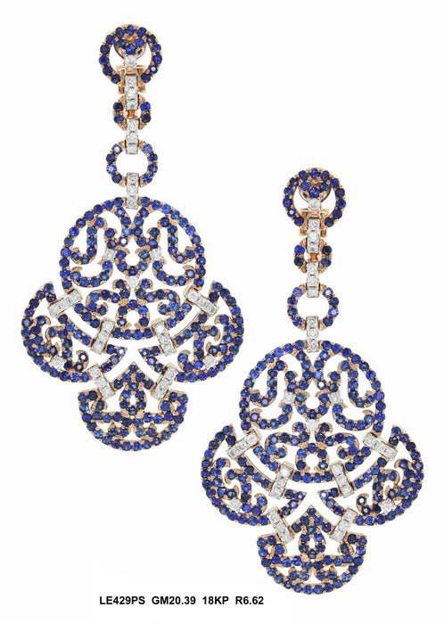 LE429PS - 18KP Earring - Pawn212