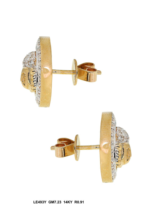 LE493Y - 14K Yellow Earring - Pawn212