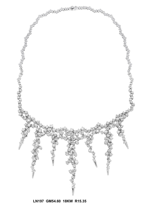 LN197 - 18K White Necklace