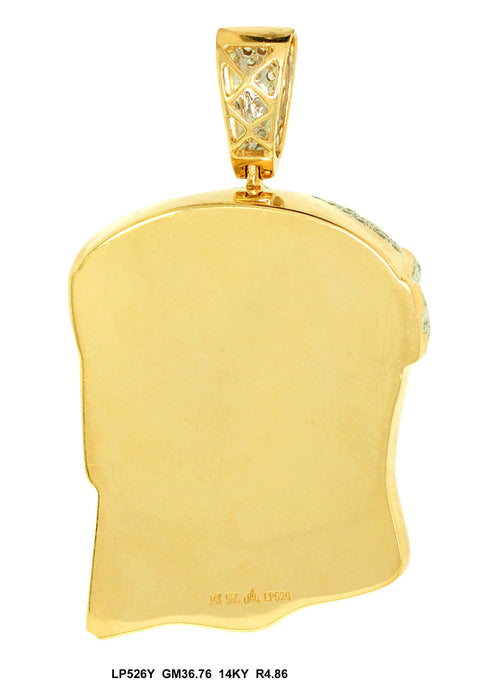 LP526Y - 14K Yellow Pendant