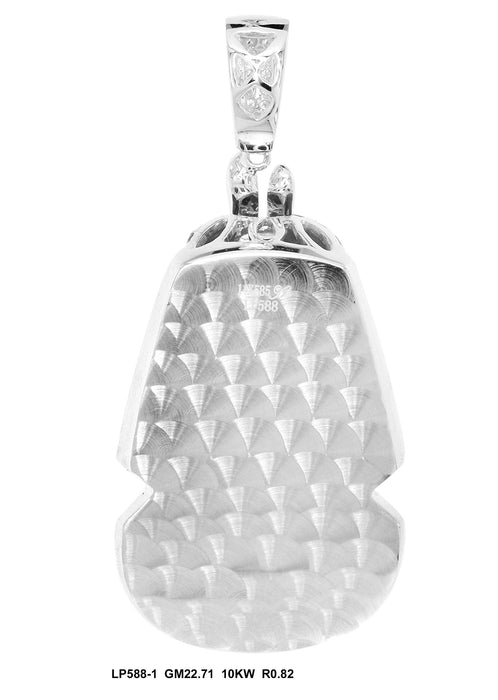 LP588-1 - 10K White Pendant