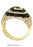 LR123YSU - 14K Yellow Ring