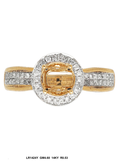 LR1424Y - 14K Yellow Ring