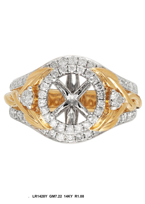 LR1428Y - 14K Yellow Ring