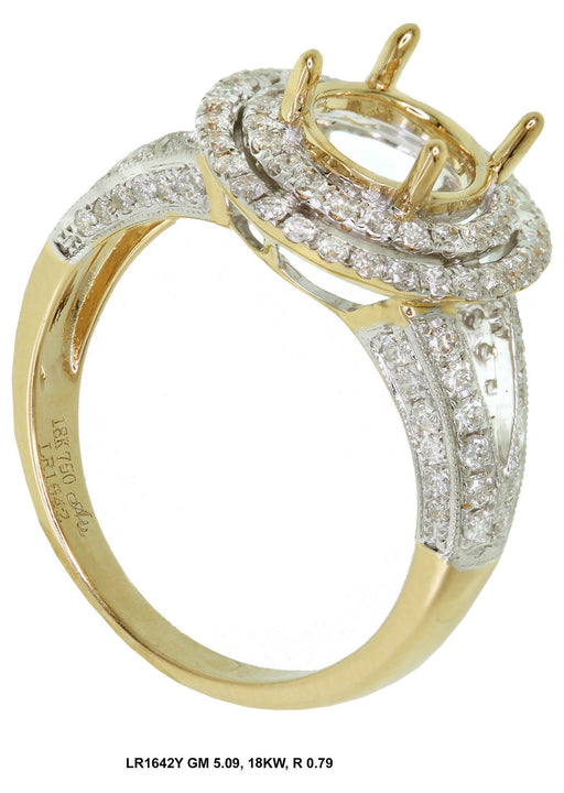LR1642Y - 18K Yellow Ring