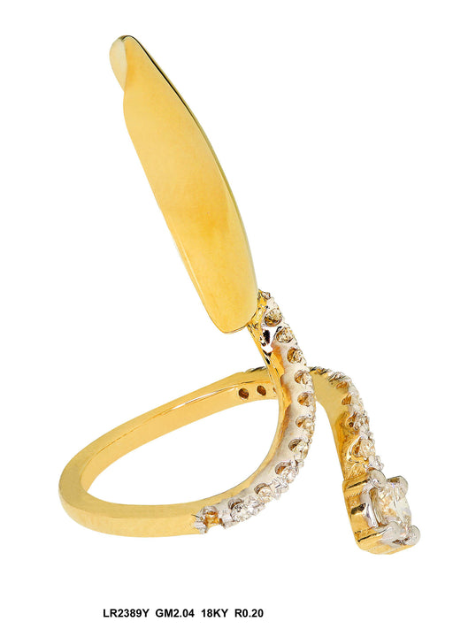 LR2389Y-1 - 18K Yellow Ring