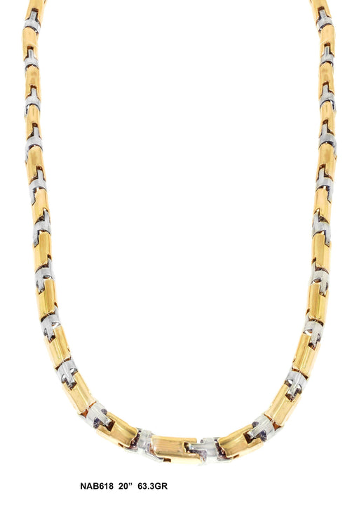 NAB618 - Bullet Necklace