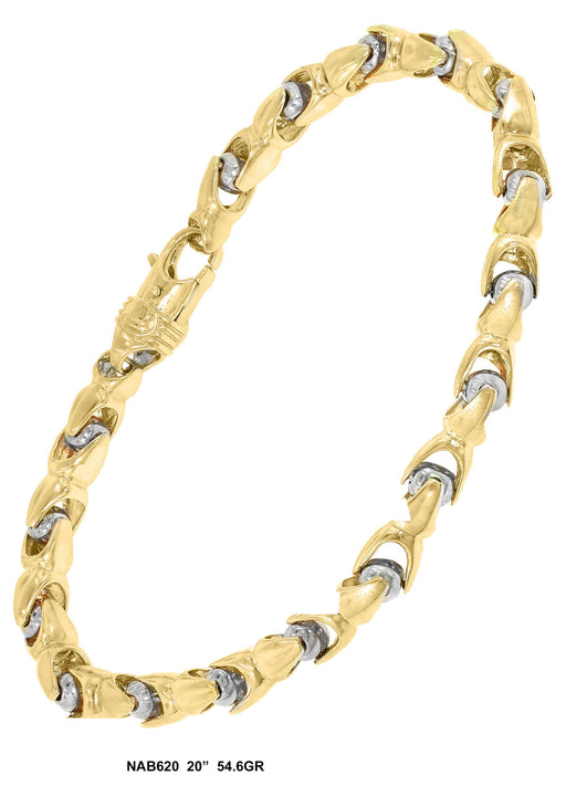 NAB620 - Bullet Necklace
