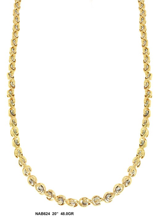 NAB624 - Bullet Necklace