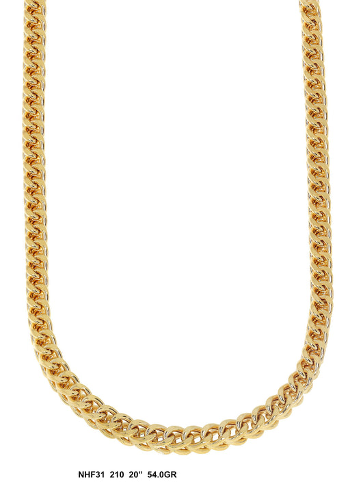 NHF31 - Hollow Franco Necklace