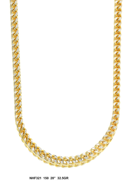 NHF321 - Hollow Franco Necklace