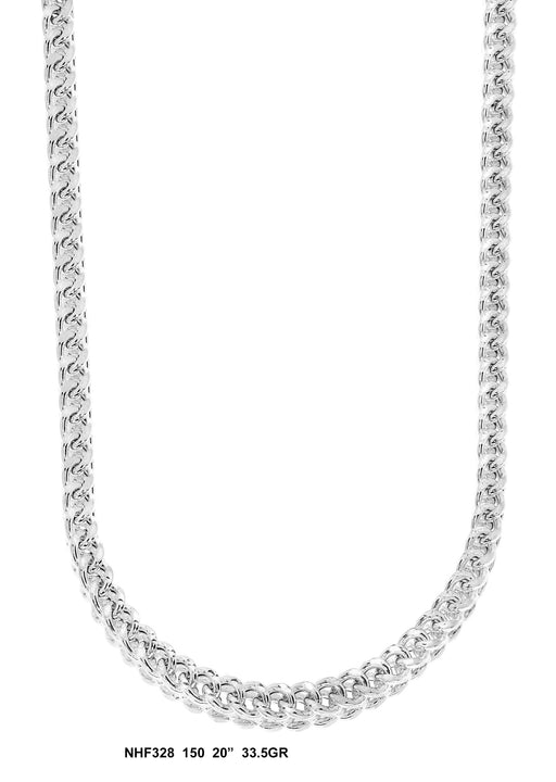 NHF328 - Hollow Franco Necklace