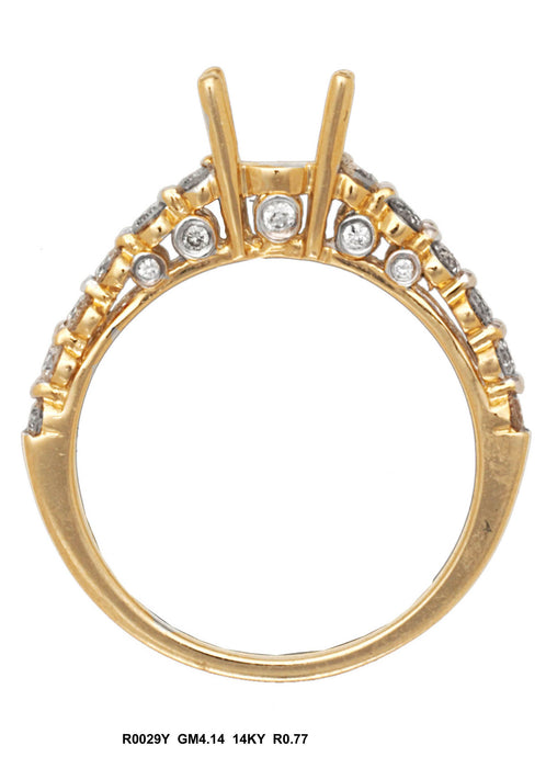 R0029Y - 14K Yellow Ring