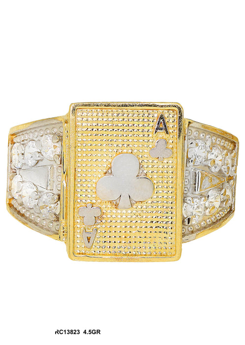 RC13823 - Cards Ring