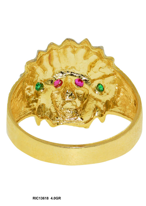 RIC13618 - Indian Chief Ring