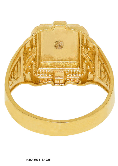 RJC15031 - Jesus / Cross Ring